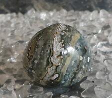 Ozean Achat Ozean Jaspis Ocean Trommelstein Heilstein Stein 24,01 Gr. Madagaskar