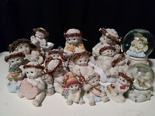 dreamsicles collectable figures 1990's-2000 westland figures snow globe Angel
