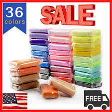 Air Dry Clay DIY 36 Colors Ultra Light for Modeling , Creative Magic Crafts Kit