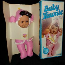 RARE!! Vintage 1974 Kenner BABY YAWNIE Doll in Box EXCELLENT WORKING CONDITION!!