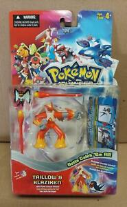 Pokemon Advanced Taillow & Blaziken Figure Pack HASBRO 2003 New