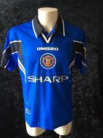 Manchester United Original Football Shirt 1996 - 98 Third Shirt UMBRO Cantona