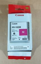 [797*] CANON PFI-102M Magenta Ink for imagePROGRAF ( RRP $109)