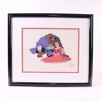 Disney Beauty and the Beast Cozy Couple Sericel