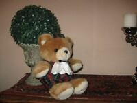 Vintage HARRODS UK School Boy Teddy Bear