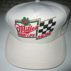 Miller High Life Racing Vintage Mesh Hat
