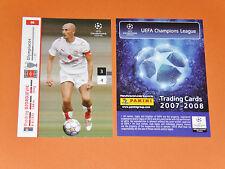 DJORDJEVIC OLYMPIAKOS HELLAS FOOTBALL CARDS PANINI CHAMPIONS LEAGUE 2007-2008