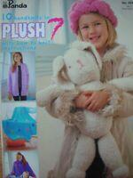 Panda Knitting Pattern Book - 10 HANDKNITS IN PLUSH 7 - How-to-knit Instructions