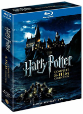 Harry Potter Complete 8-Film Collection (8-Disc Set Blu-Ray, 2011)*New*Sealed*