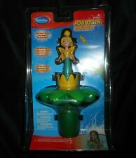 NEW VINTAGE SWIM WAYS FOUNTAIN FAIRIES LILY BLONDE FAIRY WATER POOL TOY LILY PAD