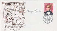 EVEREST Climber George LOWE SIGNED FDC AFTAL Autograph COA British Explorer