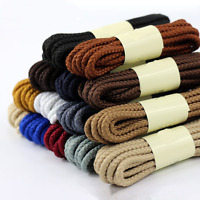 1 Pair  Round Cord Canvas Shoes Sport Unisex Shoelaces Shoe String Strap Gifts