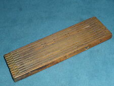 TOOLS VINTAGE  MASTER RULE MFG. CO. WOODEN INTERLOX RULER no. 106  MADE IN U.S.A