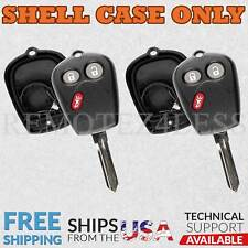 2 for 2005 2006 2007 2008 2009 Saab 9-7X Remote Shell Case Car Key Fob Cover