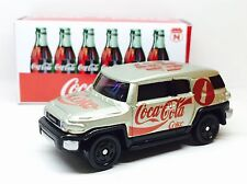 JAPAN TOMY TOMICA TOYOTA FJ CRUISER GOLD COCA COLA COKE RACING 1/66 DIECAST CAR