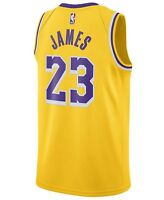 NUOVA CANOTTA/JERSEY COLLEZIONE-BASKET NBA-LOS ANGELES LAKERS-LEBRON JAMES