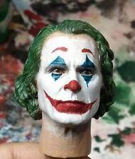 1/6 DC 2019 The Joker Joaquin Phoenix Head Sculpt Carved Fit Toy center CEN-M13