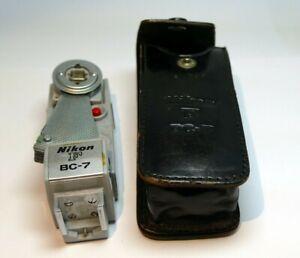 Nikon F BC-7 flash with case