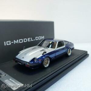 Nissan Fairlady Z (S130) Blue/Silver IGNITION MODEL 1/43 #IG2292