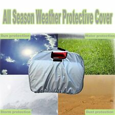 Silver Generator Cover All Season Outdoor Power Equipment Storage for Honda