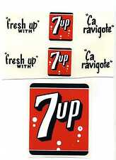 Minnitoys 7-Up Replacement Decal Set