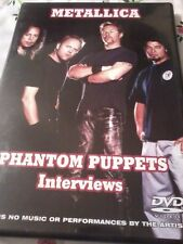 METALLICA Phantom Puppets 2013 DVD Interviews POST FREE