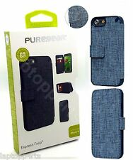 Genuine PureGear Built In Credit Card Express Folio Case Cover For iPhone 7 NEW