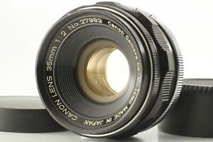 [N.MINT] Canon 35mm f2 Wide Angle L39 LTM Lens Leica Screw Mount from JAPAN