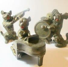 Rare Vintage Bronze Dog Band by K&O -Kronheim & Oldenbusch