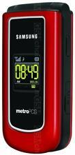 Samsung Byline SCH-R310 - Red (MetroPCS) Cellular Phone