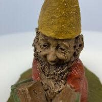 "1987 Retired ""ED"" Tom Clark Signed Gnome #19 - 5"" x 4"" Cairn Studios Figurine"