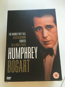Humphrey Bogart Coll DVD Set Sirocco,Lonely Pl,Dead Reckoning & Harder They Fall