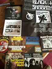 Singles Box Set [Remaster] by Black Sabbath 6 CD Set With Poster In Great Condit