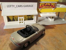 2000 GOLD MAZDA MIATA CONVERTIBLE SCALE 1/64 - LOOSE! NO BOX!