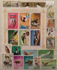 BEAUTIFUL & EDUCATIONAL BIRDS THEMATIC STAMP & SHEET TOPIC COLLECTION 05241118