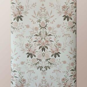 Laura Ashley Juliette Dark Blush Pink Wallpaper (Same Batch) * FREE DELIVERY *