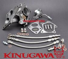 KinugawaTwin Scroll Turbine Housing Kit Convert IHI VF22 VF34 to VF36 for SUBARU