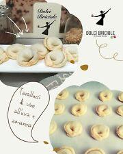 Tarallucci di vino biscotto tipico abruzzese 1kg