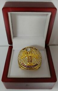 Anthony Davis - 2020 Los Angeles Lakers Championship Ring With Wooden Box