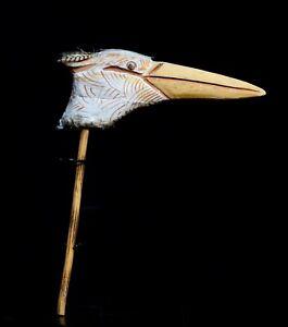 Aboriginal Toa, Pelican head, Lake Eyre, South Australia