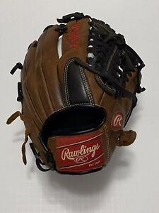 "Rawlings 11.75"" Premium Series D1175MTB Infielders RHT Baseball Glove"