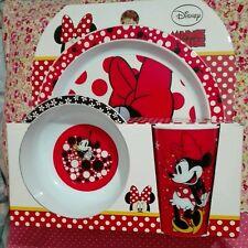 Primark Disney Minnie Mouse 3 piece breakfast/dinner set bnwt