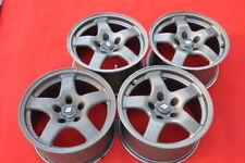 "JDM Nissan Skyline R32 GTR GT-R OEM 16"" Rims 8J+30 BNR32 Factory Wheels FORGED"