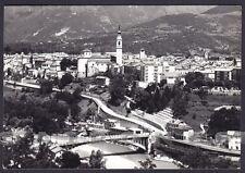 BELLUNO CITTÀ 43 PONTE Fiume PIAVE Cartolina FOTOGRAFICA viaggiata 1963