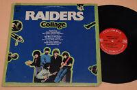 Raiders LP Collage Prog Psych 1° St Orig 1970 *EX Gatefold Cover