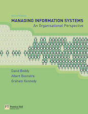Managing Information Systems: An Organisational Pe..., Kennedy, Graham Paperback
