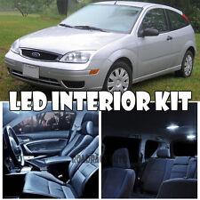 For 98-05 Ford Focus zx3 Xenon White Interior LED Light Bulb SMD Full Kit QTY 9