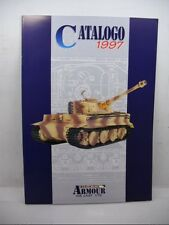 ARMOUR COLLECTION TANK SERIES  1997 DEALER CATALOG 22 PAGES 1:72 SCALE DIECAST
