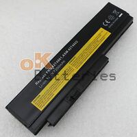 6 Cell 5200mAh Battery for IBM Lenovo Thinkpad X220 X220i OA36238 Black