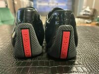PRADA SPORT PATENT LACK SNEAKERS TRAINERS FLATS SLIPPERS SCHUHE SHOES MULES 37